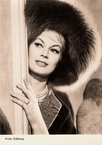 Anita Ekberg in Fur