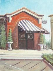 Brio Restaurant - 9x12
