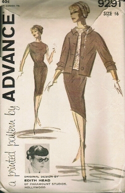 1950-1960 Edith Head pattern