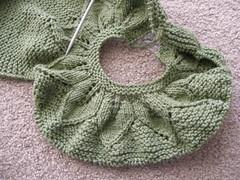 Leaf Pattern Sweater pic 1