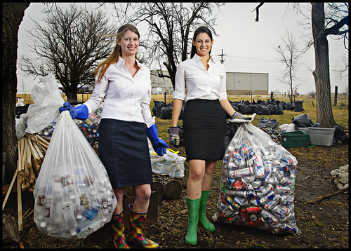 Kristen McCormick + Ginger Fast [Recycling Revolution]