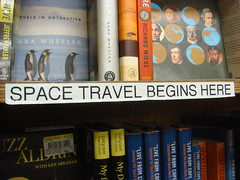 Space travel begins here.