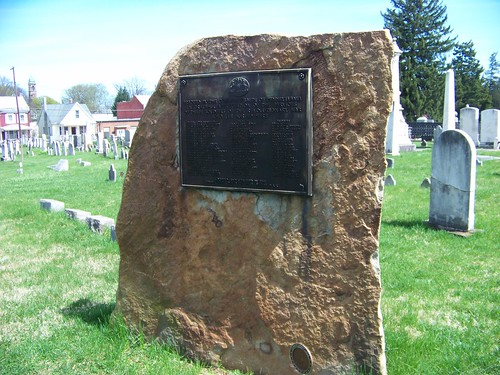 Revolutionary War veterans at Old Carlisle Cemetery (2/6)