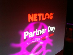 NETLOG PARTNER DAY 09 BRUXELLES GENT GHENT BELGIUM