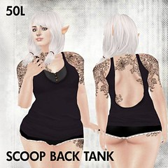 This is a Fawn - Scoop Pack Tank