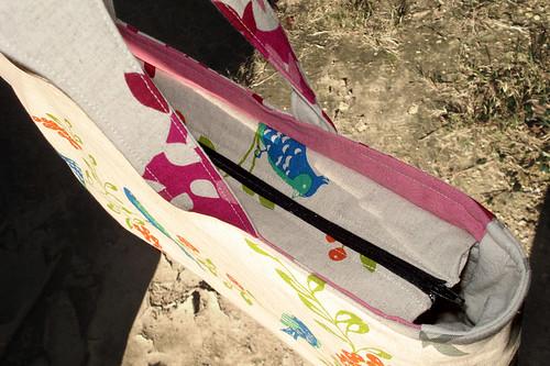 Echino Bag Drop Zipper