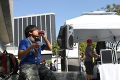 Enjoying Food & Music at LA Street Food Fest