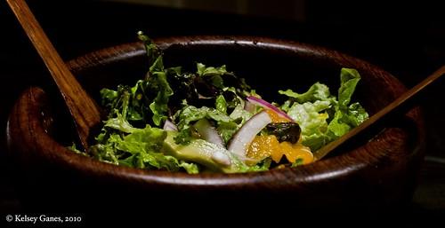 salad, meal, gluten free, avocado, Mandarin oranges, Orange Muscat, champagne vinegar, vinaigrette