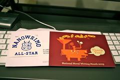 NANOWRIMO Sticker