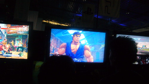 Ryu en el Area de Retas