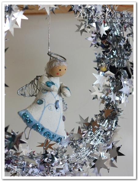 耶誕節吊掛天使