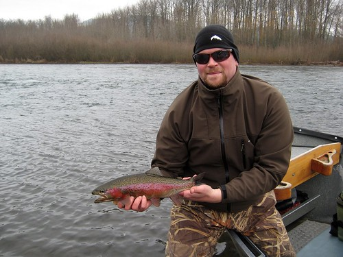 Kyle, large spring rainbow