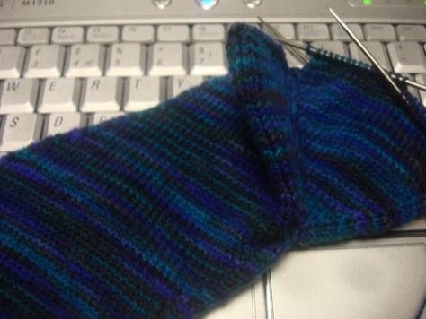 Skew Sock - heel