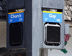 The Corner of Church and Gay