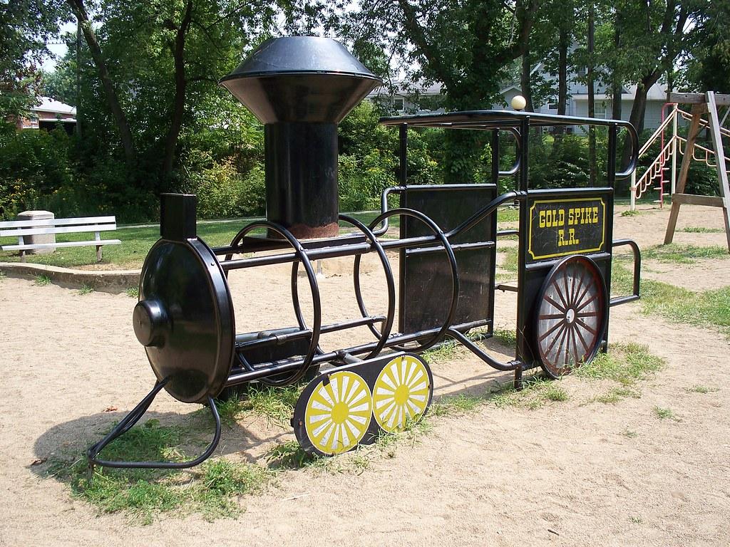 Metal railroad