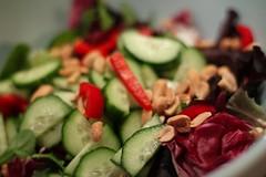 salad, naked