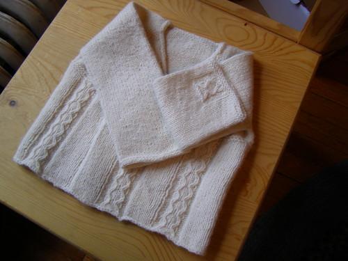 jonah's sweater - surprise!