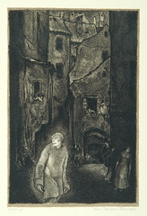 """The appearance of the Golem,"" page ..."