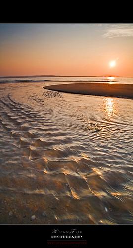 Changi Beach Sunrise 06-03-10 #11 (Reworked)