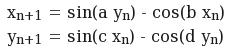 Peter De Jong formula
