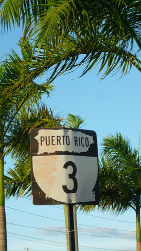 Puerto Rico road sign