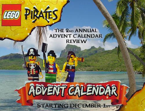 Pirate Advent Calendar Review