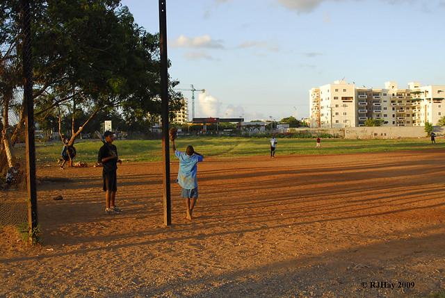"""""""Shagging balls"""" - Dominican Republic"""