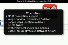 Seesmic for BlackBerry