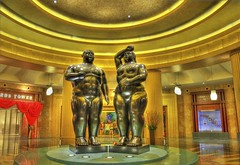 Adam & Eve Sculptures  (DSC_0039_40_41)