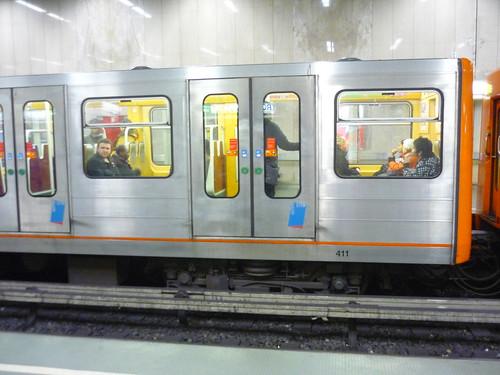 Metro train, Brussels