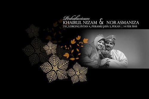 Perkahwinan Niza - Nizam - Pekan - cover