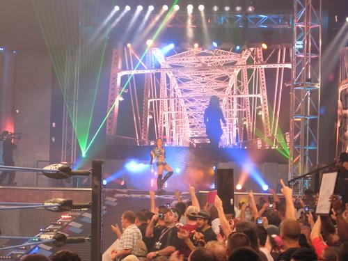 TNA Slammiversary: Mickie James vs. Angelina Love w/ Winter
