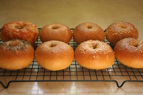 Cooling bagels