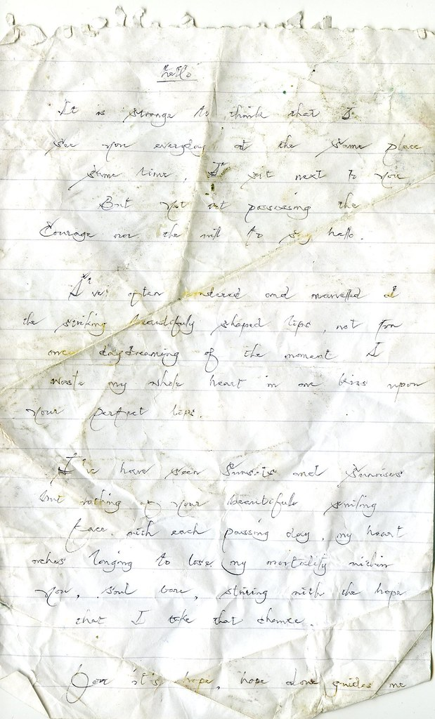 Found Letter (Page 1)