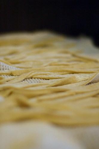Home made egg noodles (life list)