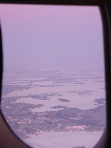 Helsinki by air
