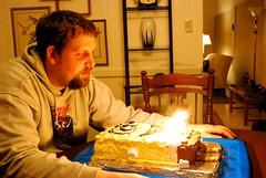 CSP making his birthday wish