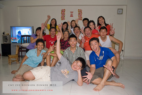 CNY Reunion Dinner 2010 #31