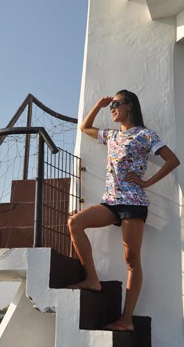 Ida Calumpang in Lucap Lighthouse