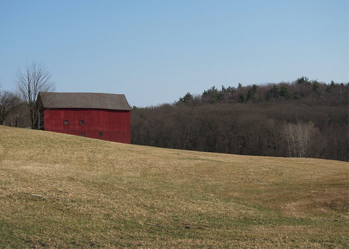 Barn on the First Day of Spring