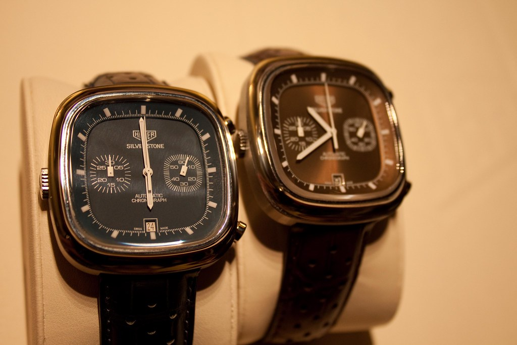 TAG Heuer - Heuer Silverstone Limited Edition watches