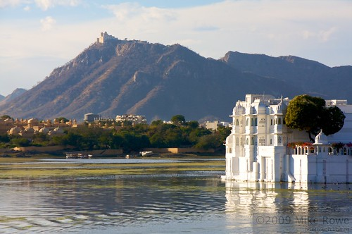 Lake Palace and Monsoon Palace
