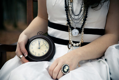 Alice in Wonderland: White Rabbit - Who Killed Time? by Brandon Christopher Warren / CC by nc 2.0