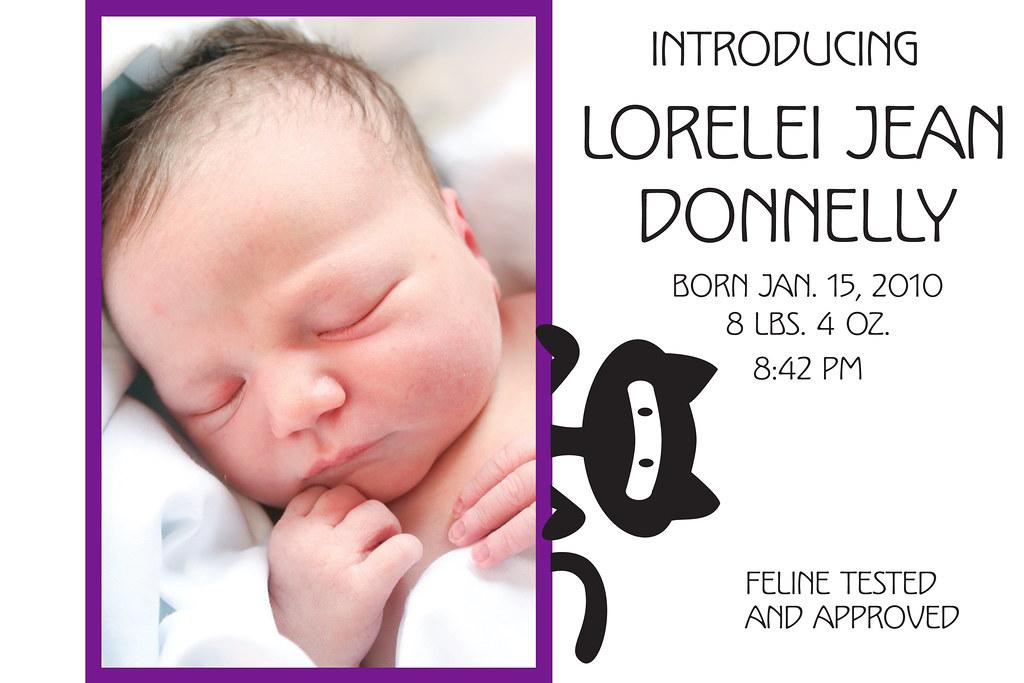 lorelei announcement