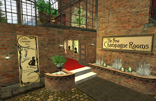 The New Champagne Rooms in New Babbage
