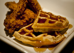Fried Chicken with Housemade Cinnamon Waffles