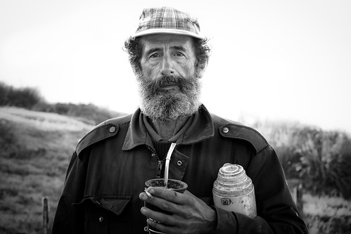 Uruguay Mate Man, Punta del Diablo, Uruguay