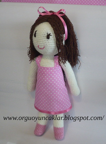 crochet doll by you.