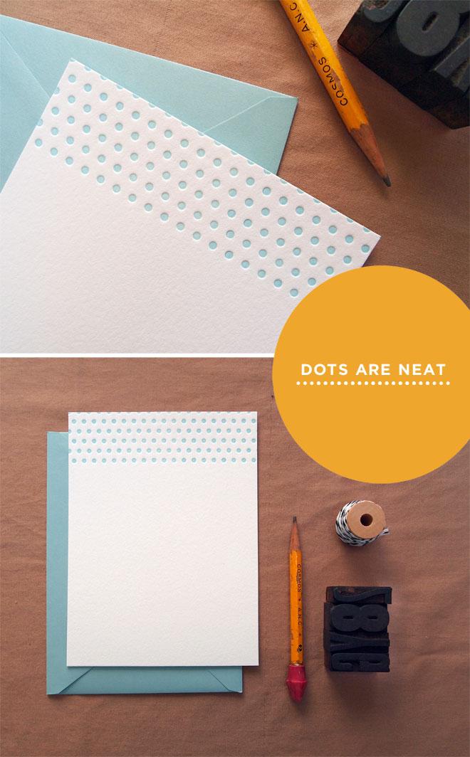 Dot-Stationery