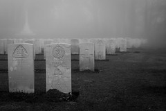 Misty Military Cemetary
